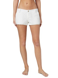 WBS7High Seas Eyelet Shorts by Roxy - FRT1