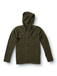 GRNPU Coated Front Zip Sup Jacket by Quiksilver - FRT1