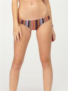 DKBAgainst the Tide Surfer Side Tie Bikini Bottoms by Roxy - FRT1