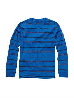 BQR3Boys 8- 6 Box Plaid Long Sleeve Shirt by Quiksilver - FRT1