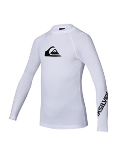WBB0All Time LS Boy Rashguard by Quiksilver - FRT1