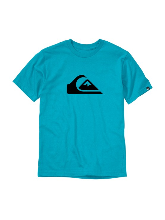 BNY0Boys 8- 6 Mountain And Wave Shirt by Quiksilver - FRT1
