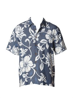 BSN0Men s Deep Water Bay Short Sleeve Shirt by Quiksilver - FRT1