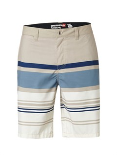 "BQZ3Yoke Checker  8"" Boardshorts by Quiksilver - FRT1"