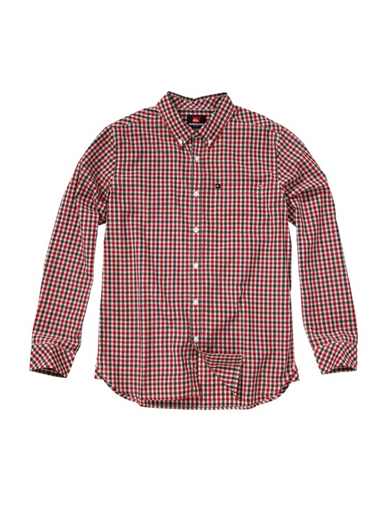 RRD1Tube Release Long Sleeve Oxford Shirt by Quiksilver - FRT1