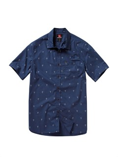 BRQ6Pirate Island Short Sleeve Shirt by Quiksilver - FRT1