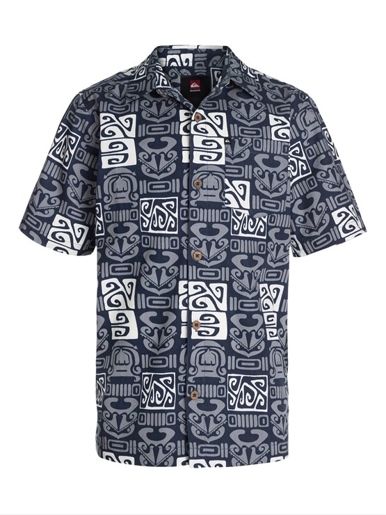 BYJ0Boys 8- 6 Mountain And Wave Shirt by Quiksilver - FRT1