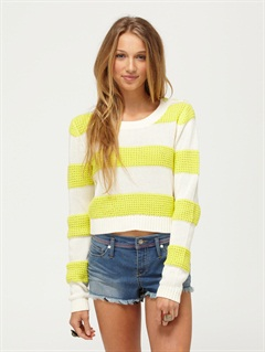 PRRGood Day Sunshine Sweater by Roxy - FRT1