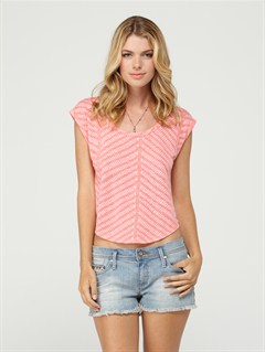 MJJ0Roxy Wave V-Neck Tee by Roxy - FRT1