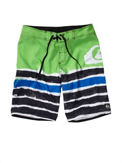 GKJ6Boys 8- 6 Kelly Boardshorts by Quiksilver - FRT1