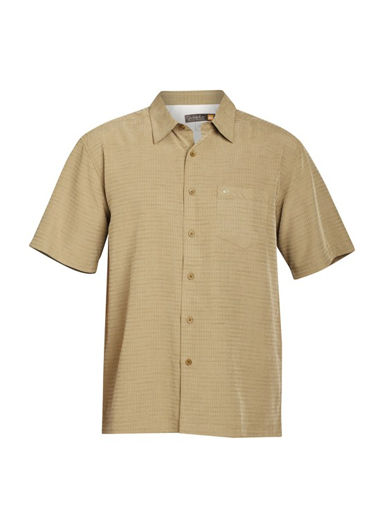 TGG0Men s Aganoa Bay Short Sleeve Shirt by Quiksilver - FRT1