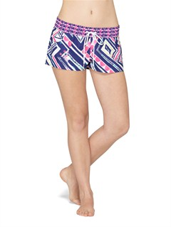 PQS6Smeaton Denim Print Shorts by Roxy - FRT1