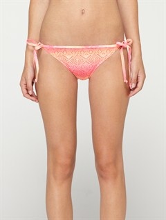 MLN3Against the Tide Surfer Side Tie Bikini Bottoms by Roxy - FRT1