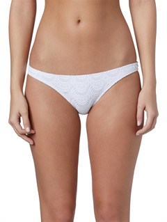 WBB0Bali Tide Scooter Lowrider Tie Side Bikini Bottoms by Roxy - FRT1