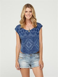 BSW0Beauty Blooms Top by Roxy - FRT1