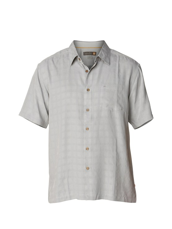 KNF0Men s Aganoa Bay Short Sleeve Shirt by Quiksilver - FRT1