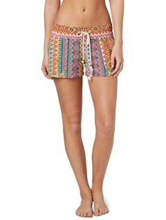 MNA3Smeaton Denim Print Shorts by Roxy - FRT1