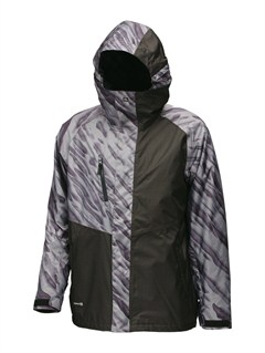 BLKCarry On Insulator Jacket by Quiksilver - FRT1