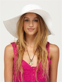WHTBreezy Straw Hat by Roxy - FRT1