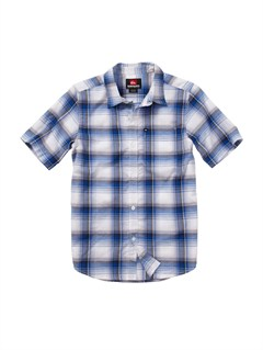 BQR1Boys 8- 6 Engineer Pat Short Sleeve Shirt by Quiksilver - FRT1
