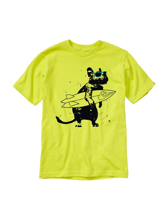 GGP0Boys 2-7 Gravy All Over T-Shirt by Quiksilver - FRT1