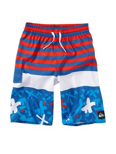 BPC6Boys 2-7 A Little Tude Boardshorts by Quiksilver - FRT1
