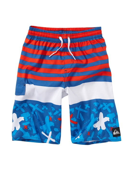 BPC6Boys 2-7 Talkabout Volley Shorts by Quiksilver - FRT1