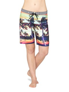 KVJ6Smeaton Denim Print Shorts by Roxy - FRT1