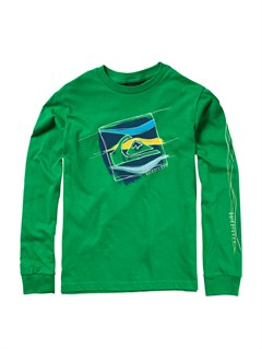 GRJ0Boys 8- 6 Old Brew Long Sleeve Hooded T-Shirt by Quiksilver - FRT1