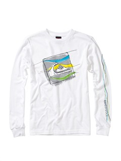 WBB0Boys 8- 6 Surf Division Long Sleeve Hooded T-Shirt by Quiksilver - FRT1