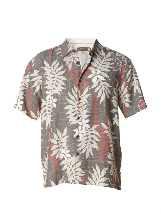KQY0Men s Aganoa Bay Short Sleeve Shirt by Quiksilver - FRT1