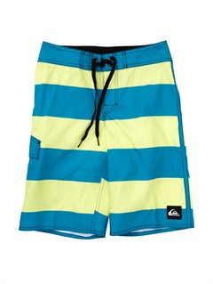 BNY3Boys 8- 6 Kelly Boardshorts by Quiksilver - FRT1