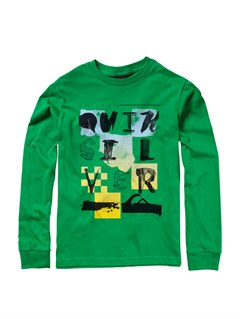 GRJ0Boys 8- 6 Beatnik Long Sleeve T-Shirt by Quiksilver - FRT1
