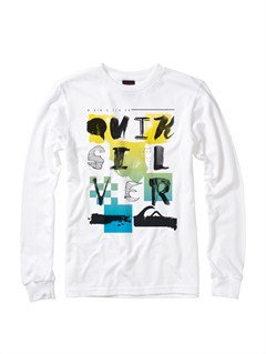 WBB0Boys 8- 6 Mountain Wave Long Sleeve Hooded T-Shirt by Quiksilver - FRT1