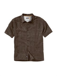 KQZ0Pirate Island Short Sleeve Shirt by Quiksilver - FRT1