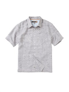 SGR0Men s Aganoa Bay Short Sleeve Shirt by Quiksilver - FRT1