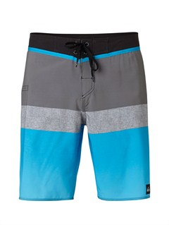 "KVJ6Yoke Checker  8"" Boardshorts by Quiksilver - FRT1"