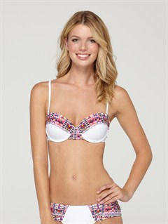 WBB0Brazilian Chic Criss Cross Bandeau Top by Roxy - FRT1