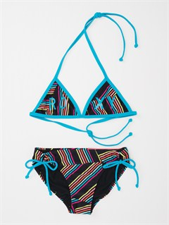 BLKGirls 7- 4 Bright as Roxy Fringe Tiki Tri Bikini Set by Roxy - FRT1