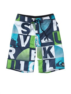 BTK6Boys 8- 6 Kelly Boardshorts by Quiksilver - FRT1