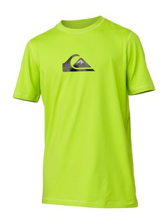 GGY0Boys 8- 6 Line Up SS Rashguard by Quiksilver - FRT1
