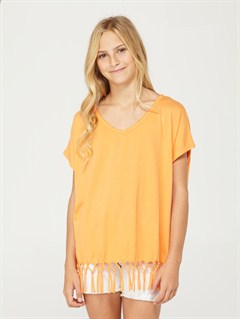 MDNGirls 7- 4 Calla Lily Top by Roxy - FRT1