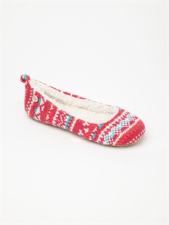 PSCGirls 7- 4 Pine Cone Slippers by Roxy - FRT1