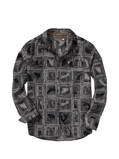 KVJ0Men s Back Bay Long Sleeve Shirt by Quiksilver - FRT1