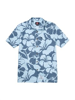 BFG6Crossed Eyes Short Sleeve Shirt by Quiksilver - FRT1