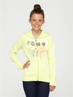 GCK0Girls 7- 4 Believe Printed B Sweater by Roxy - FRT1
