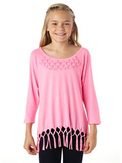 MLW0Girls 7- 4 Beach Break Top by Roxy - FRT1