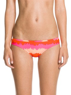 MNA3Brazilian Chic Itsy Bitsy Bikini Bottoms by Roxy - FRT1