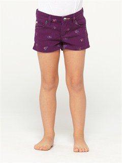 PAPGirls 2-6 Blaze Embroidered Shorts by Roxy - FRT1