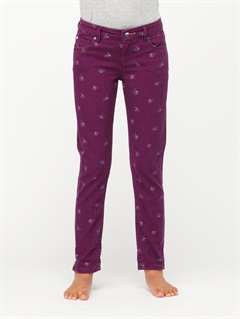 PAPGirls 7- 4 Tawana Print Pants by Roxy - FRT1